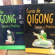 Libros: CURSO DE QIGONG-TEORIA Y PRÁCTICA-2 TOMOS COMPLETO,JORDI VILA I OLIVERAS,EDITA ALAS,ILUSTRADO. Lote 218815421