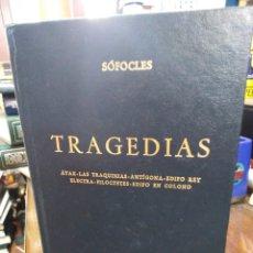 Libros: TRAGEDIAS-SOFOCLES-BIBLIOTECA CLÁSICA GREDOS,1998,AYAX LAS,TRAQUINIAS,ANTIGONA,EDIPO REY,ELECTRA,FIL. Lote 218967430