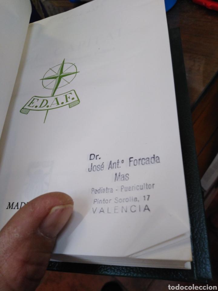 Libros: EL CAPITAL-CARLOS MARX-2 TOMOS COMPLETO,EDITA E.D.A.F-CUÑO DE ANTIGUO PROPIETARIO,PAPEL BIBLIA, - Foto 5 - 218969526