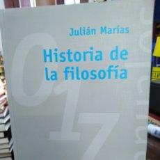 Libros: HISTORIA DE LA FILOSOFÍA-JULIÁN MARIAS,ALIANZA EDITORIAL,ÍNDICE SUBRAYADO,BUEN ESTADO. Lote 218972060