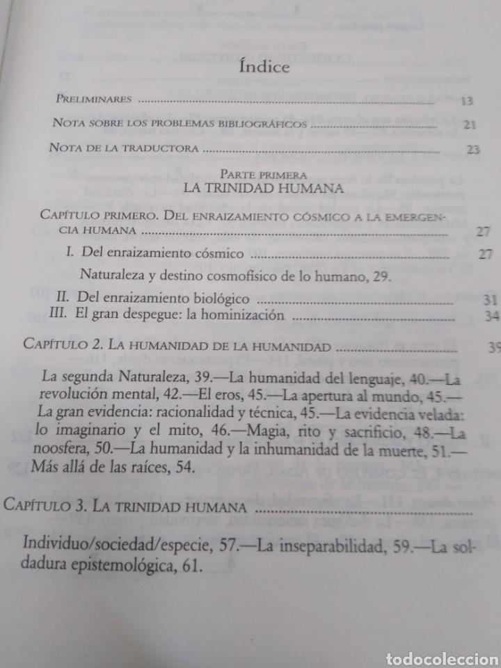 Libros: EL MÉTODO-LA HUMANIDAD DE LA HUMANIDAD-LA IDENTIDAD HUMANA,EDGAR MORIN,EDITA CÁTEDRA,1°EDICION 2003, - Foto 7 - 219042285