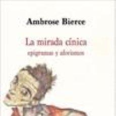 Libros: LA MIRADA CÍNICA. Lote 219056073