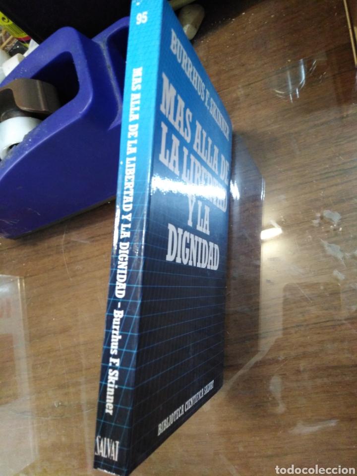 Libros: MÁS ALLÁ DE LA LIBERTAD Y LA DIGNIDA-BURRHUS F.SKINNER-EDITA SALVAT,1972, NUEVO - Foto 2 - 219147391