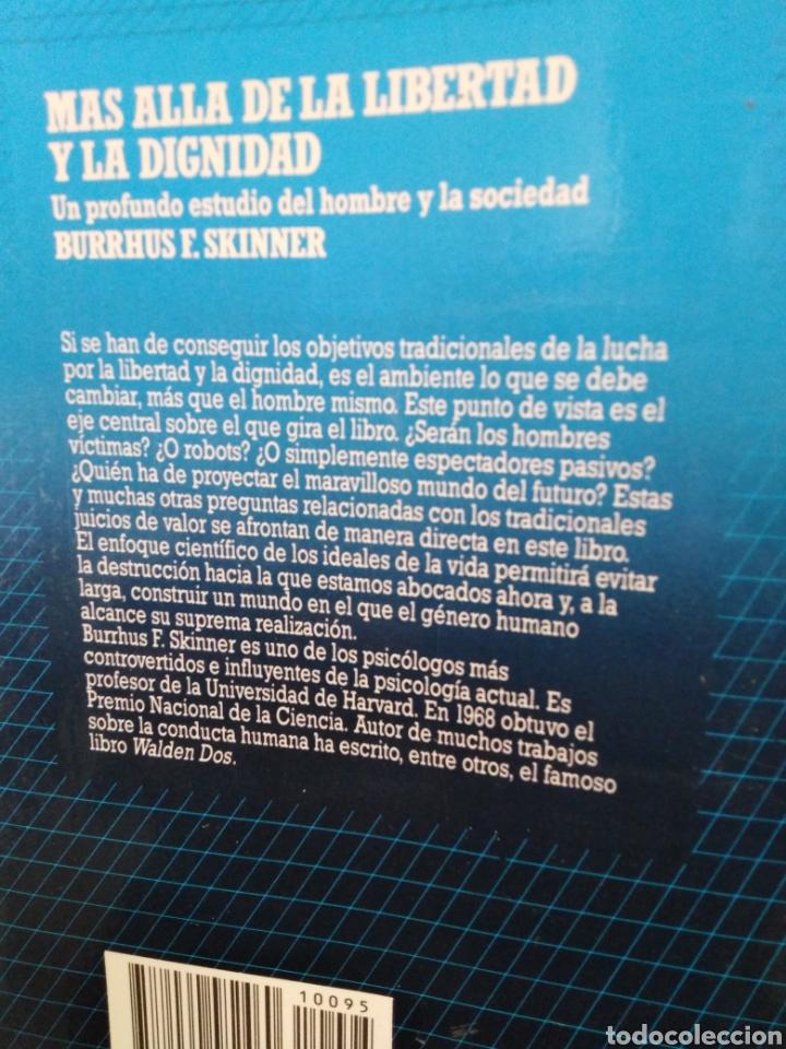 Libros: MÁS ALLÁ DE LA LIBERTAD Y LA DIGNIDA-BURRHUS F.SKINNER-EDITA SALVAT,1972, NUEVO - Foto 3 - 219147391