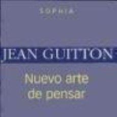 Libros: NUEVO ARTE DE PENSAR. Lote 219249297