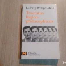 Libros: LUDWING WITTGENSTEIN - TRACTATUS LOGICO - PHILOSOPHICUS -. Lote 220244766
