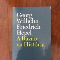 Libros: A RAZÃO NA HISTÓRIA. Lote 220772321