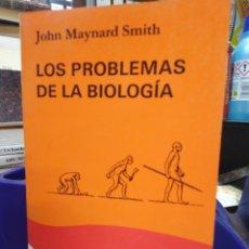 Libros: LOS PROBLEMAS DE LA BIOLOGÍA-JOHN MAYNARD SMITH-EDITA CÁTEDRA 1987. Lote 220954615