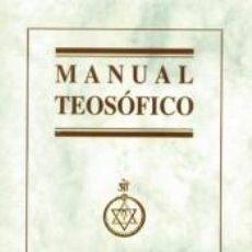 Libros: MANUAL TEOSOFICO. Lote 221094550
