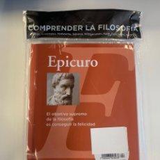 Libros: COLECCIÓN FILOSOFÍA EPICURO. Lote 222302592