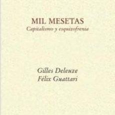 Libros: MIL MESETAS. Lote 222414813