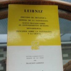 Libros: LEIBNITZ TOMO QUE INCLUYE VARIOS LIBROS (VER DESCRIPCIÓN). Lote 223357848