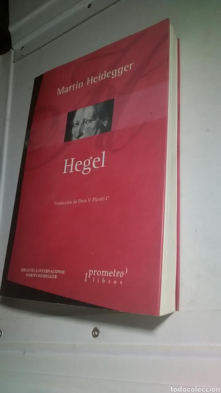 Libros: Heidegger. Hegel. Prometeo libros. 2005. 1a. Edición. Bilingüe. - Foto 7 - 224793732