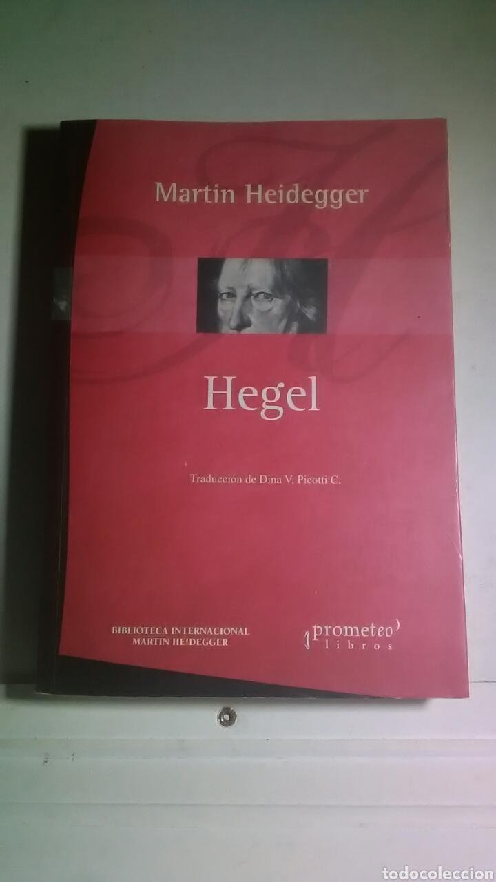 HEIDEGGER. HEGEL. PROMETEO LIBROS. 2005. 1A. EDICIÓN. BILINGÜE. (Libros Nuevos - Humanidades - Filosofía)