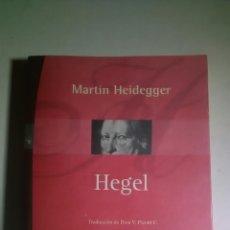Libros: HEIDEGGER. HEGEL. PROMETEO LIBROS. 2005. 1A. EDICIÓN. BILINGÜE.. Lote 224793732
