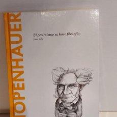 Libros: SCHOPENHAUER / EL PESIMISMO... / JOAN SOLÉ / DESCUBRIR LA FILOSOFÍA / 8 / PRECINTADO.. Lote 227155210