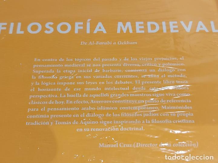 Libros: FILOSOFÍA MEDIEVAL / ANDRÉS MARTÍNEZ LORCA / DESCUBRIR LA FILOSOFÍA / 18 / PRECINTADO. - Foto 2 - 227155585
