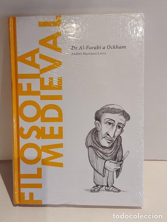 FILOSOFÍA MEDIEVAL / ANDRÉS MARTÍNEZ LORCA / DESCUBRIR LA FILOSOFÍA / 18 / PRECINTADO. (Libros Nuevos - Humanidades - Filosofía)