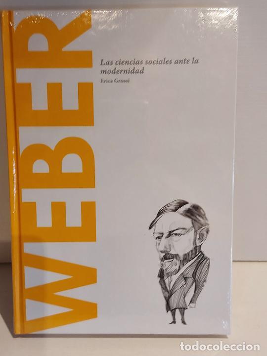 WEBER / LAS CIENCIAS SOCIALES.../ DESCUBRIR LA FILOSOFÍA / 48 / PRECINTADO. (Libros Nuevos - Humanidades - Filosofía)