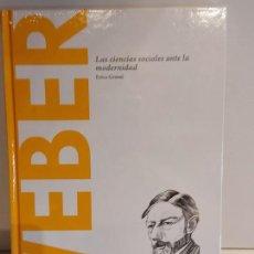 Libros: WEBER / LAS CIENCIAS SOCIALES.../ DESCUBRIR LA FILOSOFÍA / 48 / PRECINTADO.. Lote 227155930