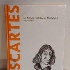 Libros: DESCARTES / MÁS ALLÁ DE TODA DUDA.../ DESCUBRIR LA FILOSOFÍA / 6 / PRECINTADO.. Lote 227156315