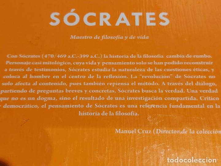 Libros: SOCRATES / MAESTRO DE FILOSOFÍA Y DE VIDA / DESCUBRIR LA FILOSOFÍA / 41 / PRECINTADO. - Foto 2 - 249470615