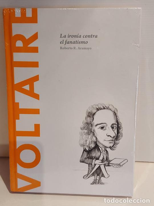 VOLTAIRE / LA IRONÍA CONTRA EL FANATISMO / DESCUBRIR LA FILOSOFÍA / 31 / PRECINTADO. (Libros Nuevos - Humanidades - Filosofía)