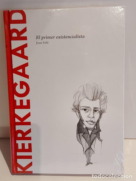 KIERKEGAARD / EL PRIMER EXISTENCIALISTA / DESCUBRIR LA FILOSOFÍA / 14 / PRECINTADO. (Libros Nuevos - Humanidades - Filosofía)