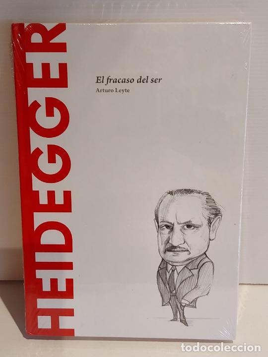 HEIDEGGER / EL FRACASO DEL SER / DESCUBRIR LA FILOSOFÍA / 24 / PRECINTADO. (Libros Nuevos - Humanidades - Filosofía)