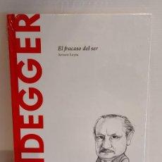 Libros: HEIDEGGER / EL FRACASO DEL SER / DESCUBRIR LA FILOSOFÍA / 24 / PRECINTADO.. Lote 227183810