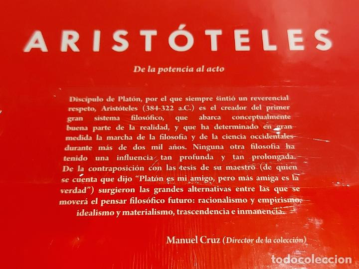 Libros: ARISTOTELES / DE LA POTENCIA AL ACTO / DESCUBRIR LA FILOSOFÍA / 4 / PRECINTADO. - Foto 2 - 227185055