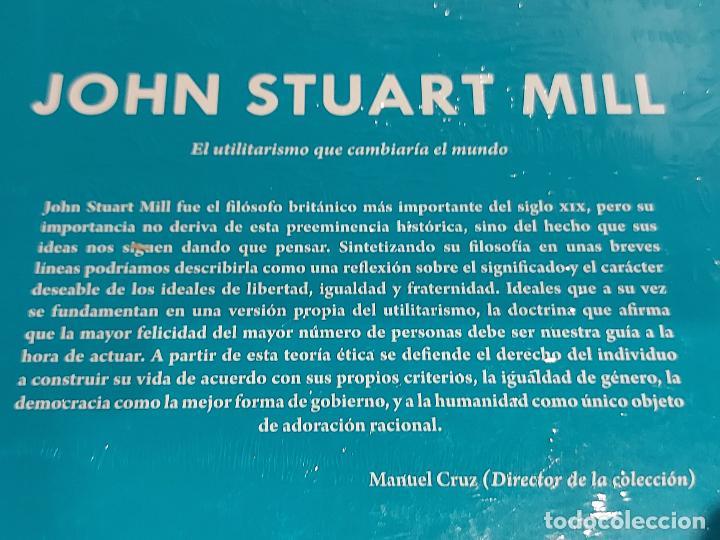 Libros: JOHN STUART MILL / EL UTILITARISMO QUE CAMBIARÍA... / DESCUBRIR LA FILOSOFÍA / 42 / PRECINTADO. - Foto 2 - 227190040