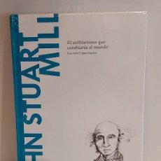Libros: JOHN STUART MILL / EL UTILITARISMO QUE CAMBIARÍA... / DESCUBRIR LA FILOSOFÍA / 42 / PRECINTADO.. Lote 227190040