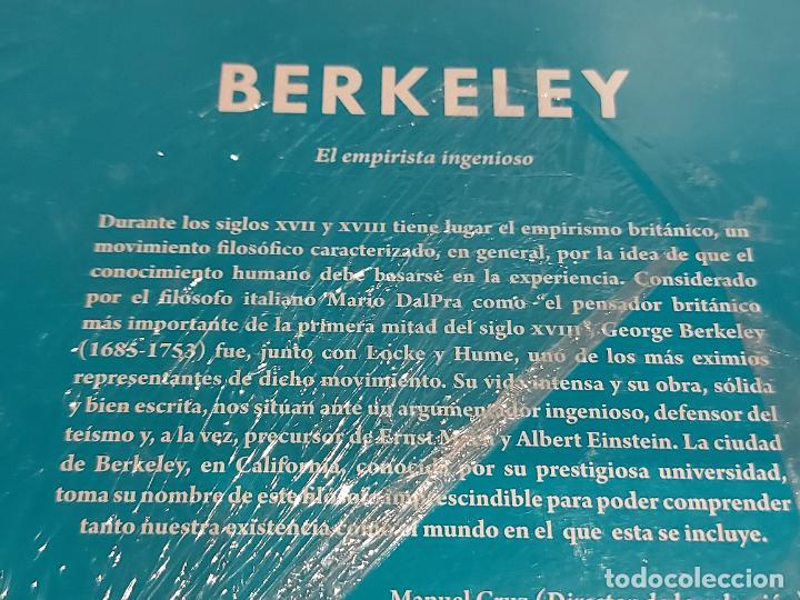 Libros: BERKELEY / EL EMPIRISTA INGENIOSO / DESCUBRIR LA FILOSOFÍA / 37 / PRECINTADO. - Foto 2 - 227190129
