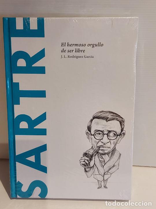 SARTRE / EL HERMOSO ORGULLO DE SER LIBRE / DESCUBRIR LA FILOSOFÍA / 32 / PRECINTADO. (Libros Nuevos - Humanidades - Filosofía)