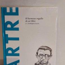 Libros: SARTRE / EL HERMOSO ORGULLO DE SER LIBRE / DESCUBRIR LA FILOSOFÍA / 32 / PRECINTADO.. Lote 227190240