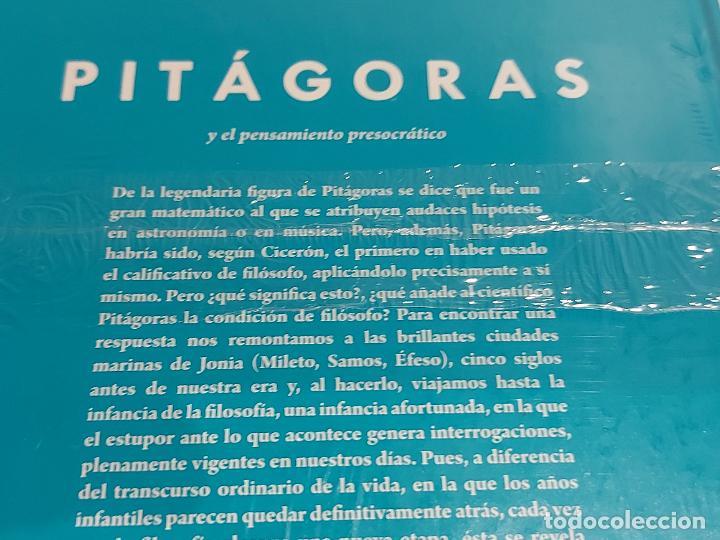 Libros: PITAGORAS / ...Y EL PENSAMIENTO PRESOCRÁTICO / DESCUBRIR LA FILOSOFÍA / 12 / PRECINTADO. - Foto 2 - 227190340