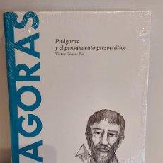 Libros: PITAGORAS / ...Y EL PENSAMIENTO PRESOCRÁTICO / DESCUBRIR LA FILOSOFÍA / 12 / PRECINTADO.. Lote 227190340
