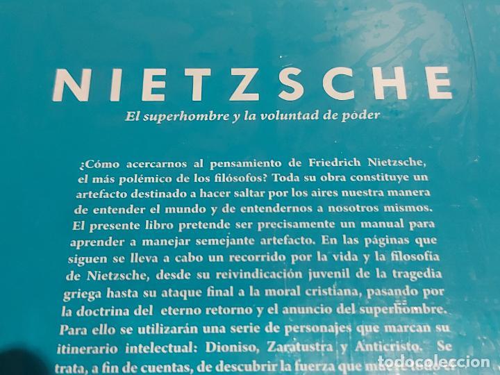 Libros: NIETZSCHE / EL SUPERHOMBRE Y LA VOLUNTAD DE PODER / DESCUBRIR LA FILOSOFÍA / 2 / PRECINTADO. - Foto 2 - 227190460