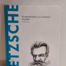 Libros: NIETZSCHE / EL SUPERHOMBRE Y LA VOLUNTAD DE PODER / DESCUBRIR LA FILOSOFÍA / 2 / PRECINTADO.. Lote 227190460