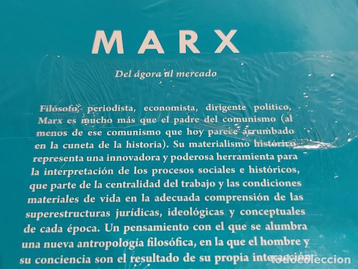 Libros: MARX / DEL ÁGORA AL MERCADO / DESCUBRIR LA FILOSOFÍA / 7 / PRECINTADO. - Foto 2 - 227190810