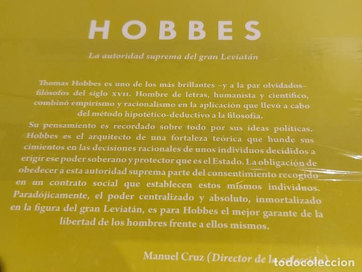 Libros: HOBBES / LA AUTORIDAD SUPREMA DEL GRAN LEVIATÁN / DESCUBRIR LA FILOSOFÍA / 25 / PRECINTADO. - Foto 2 - 227203534