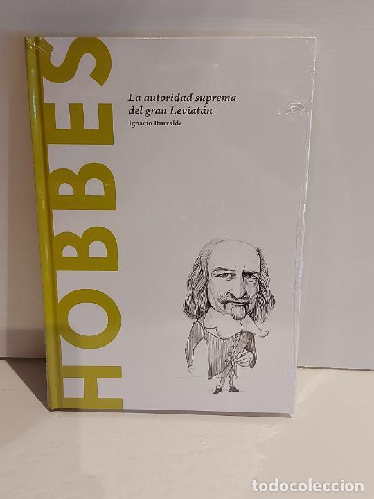 HOBBES / LA AUTORIDAD SUPREMA DEL GRAN LEVIATÁN / DESCUBRIR LA FILOSOFÍA / 25 / PRECINTADO. (Libros Nuevos - Humanidades - Filosofía)