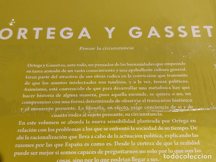 Libros: ORTEGA Y GASSET / PENSAR LA CIRCUNSTANCIA / DESCUBRIR LA FILOSOFÍA / 15 / PRECINTADO. - Foto 2 - 227203629