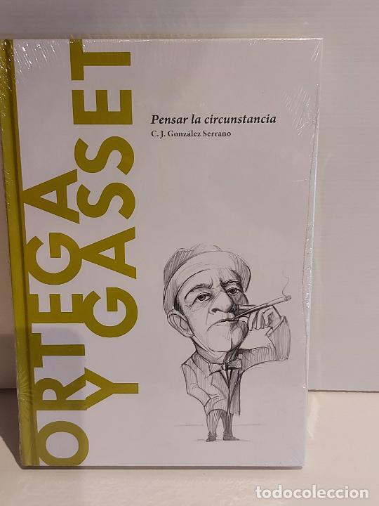 ORTEGA Y GASSET / PENSAR LA CIRCUNSTANCIA / DESCUBRIR LA FILOSOFÍA / 15 / PRECINTADO. (Libros Nuevos - Humanidades - Filosofía)