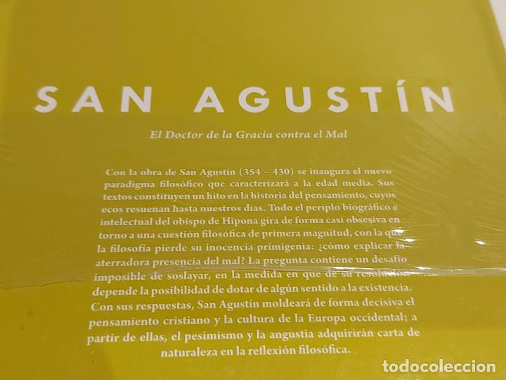 Libros: SAN AGUSTIN / EL DOCTOR DE LA GRACIA CONTRA EL MAL / DESCUBRIR LA FILOSOFÍA / 5 / PRECINTADO. - Foto 2 - 236498400