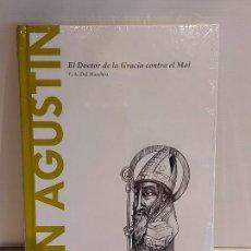 Libros: SAN AGUSTIN / EL DOCTOR DE LA GRACIA CONTRA EL MAL / DESCUBRIR LA FILOSOFÍA / 5 / PRECINTADO.. Lote 236498400