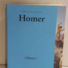 Libros: HOMER / ODISSEA I / BERNAT METGE ESSENCIAL / 1 / NUEVO. Lote 227224870