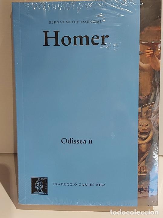 HOMER / ODISSEA II / BERNAT METGE ESSENCIAL / 2 / PRECINTADO A ESTRENAR. (Libros Nuevos - Humanidades - Filosofía)