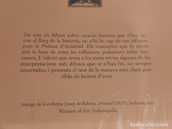Libros: ARISTÒTIL / POÉTICA / BERNAT METGE ESSENCIAL / 6 / PRECINTADO A ESTRENAR. - Foto 2 - 275235143